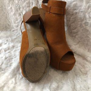 Lola Shoetique Shoes - Chestnut brown